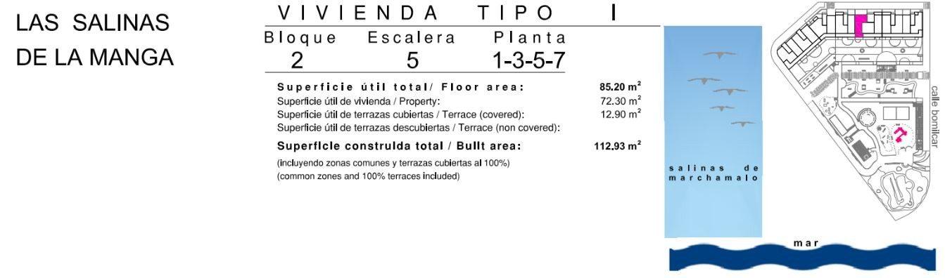 4 pièces Appartement 72 m²