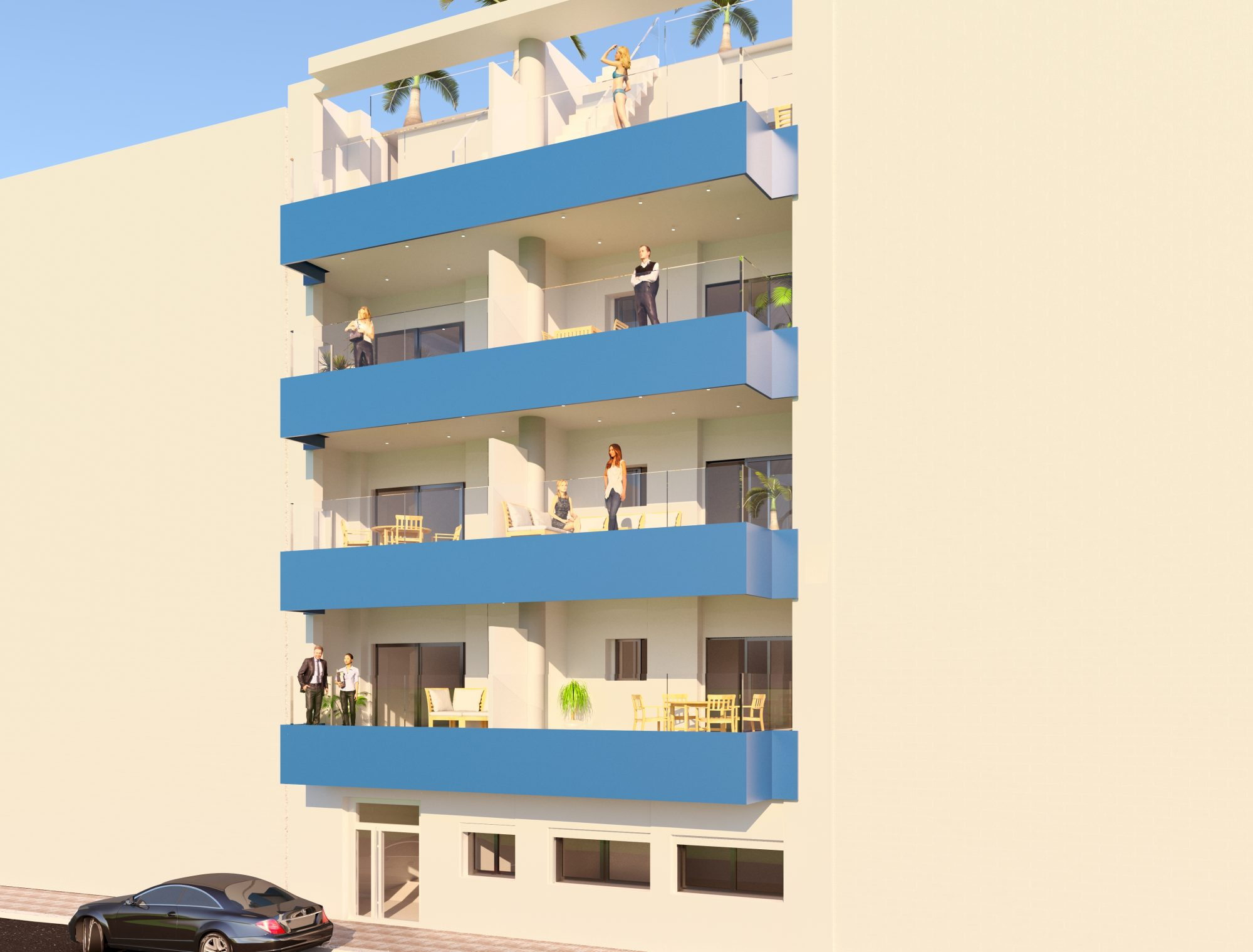 83 m² 4 pièces  Appartement