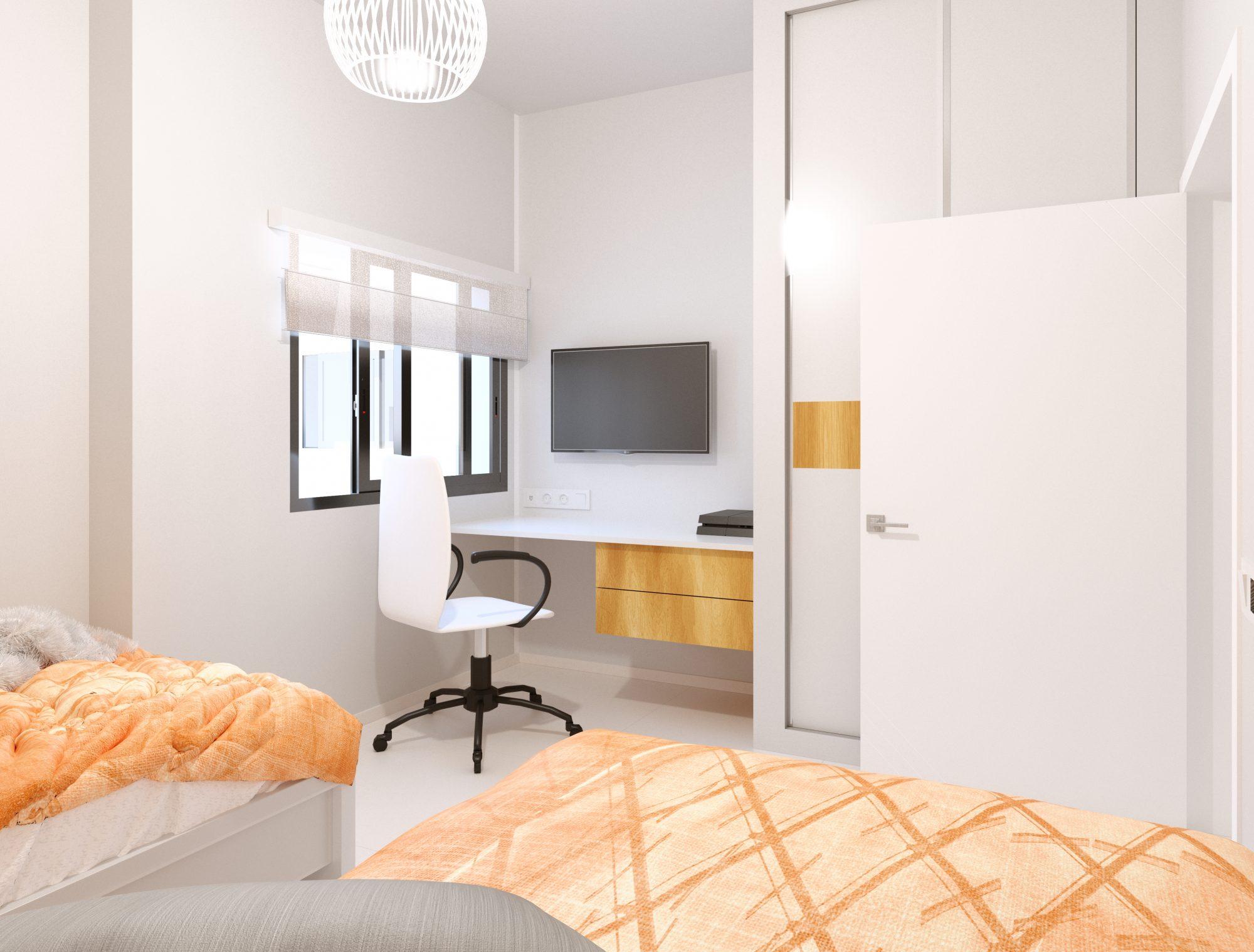 83 m² Appartement 4 pièces