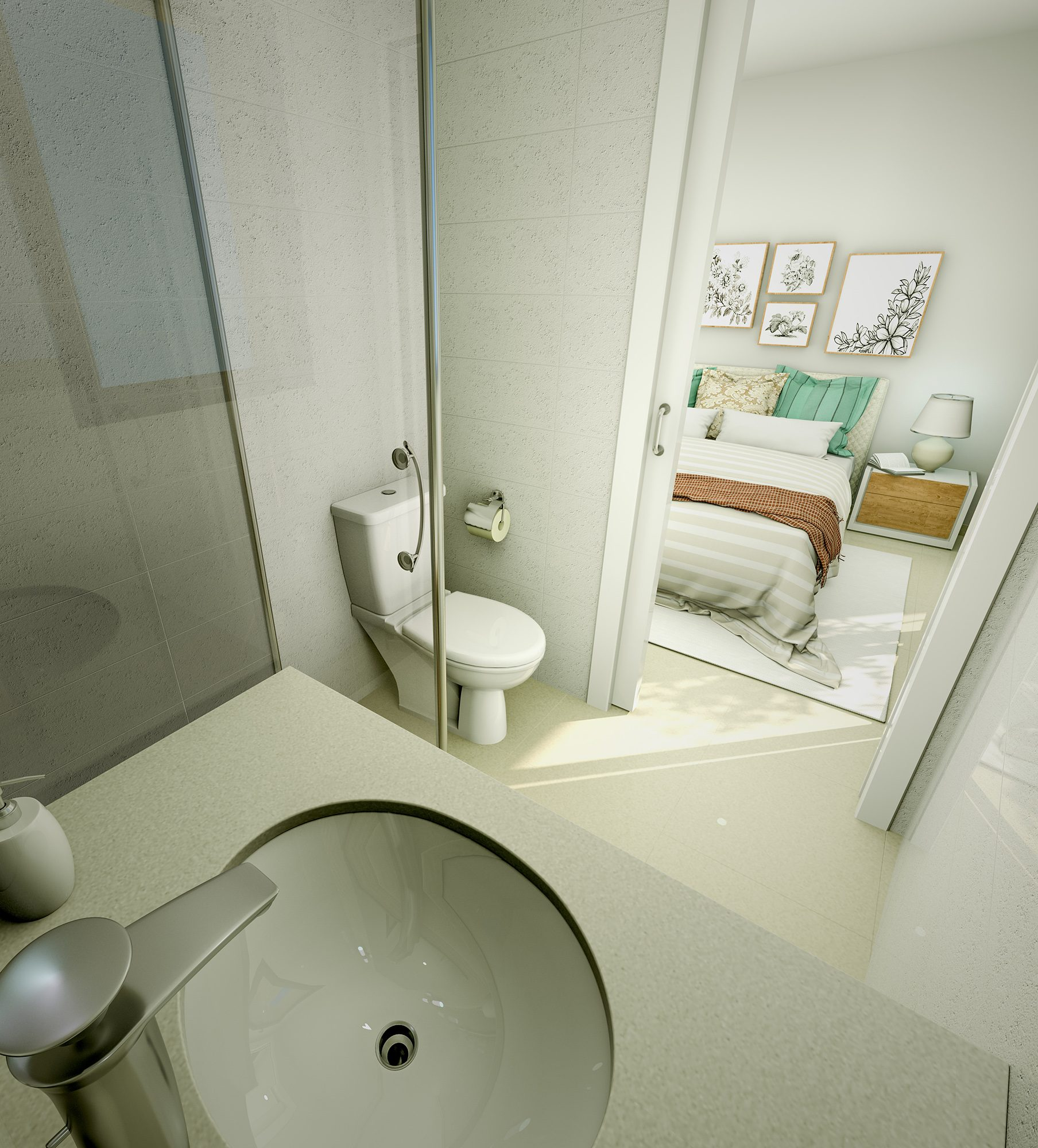 3 pièces 77 m² Appartement