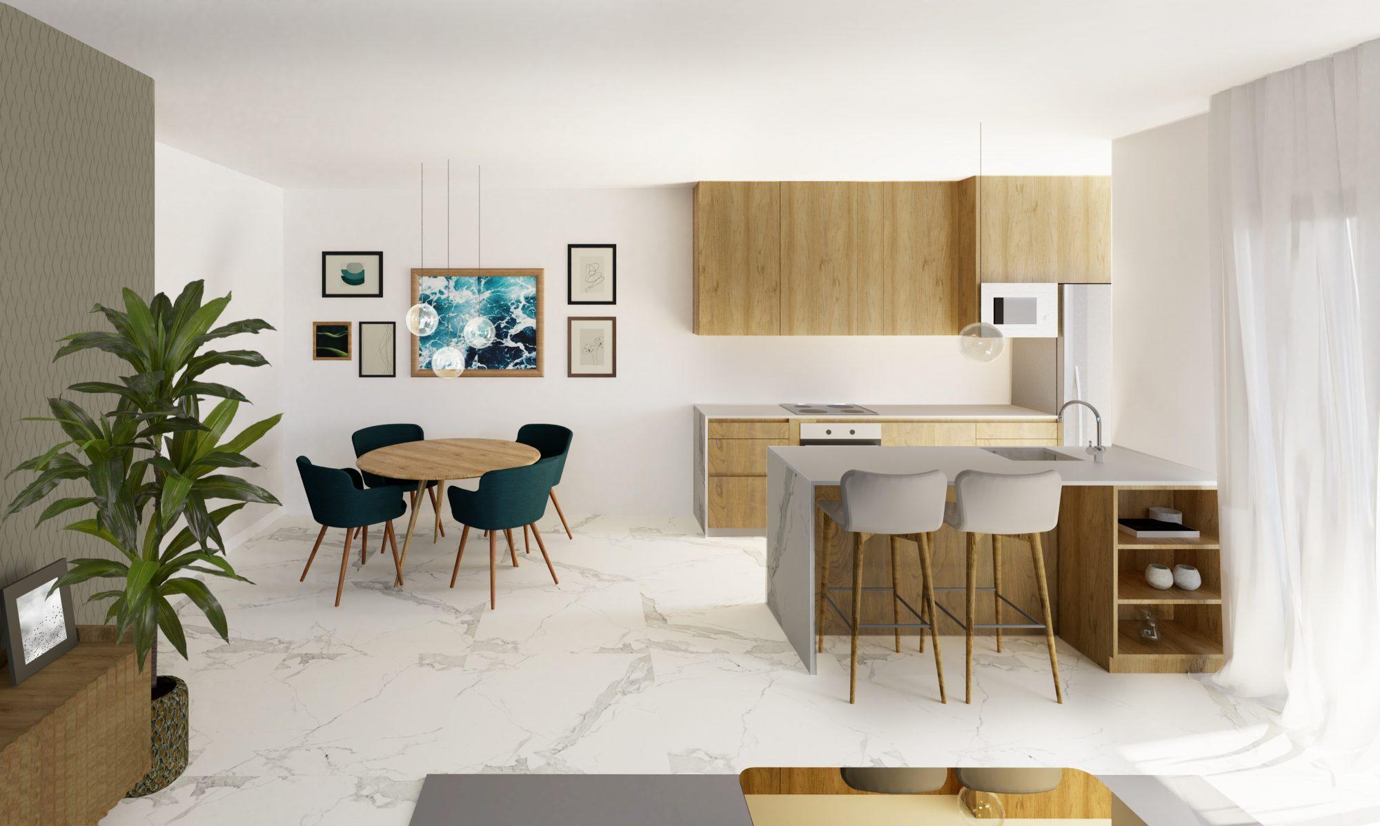 Appartement 102 m² 4 pièces