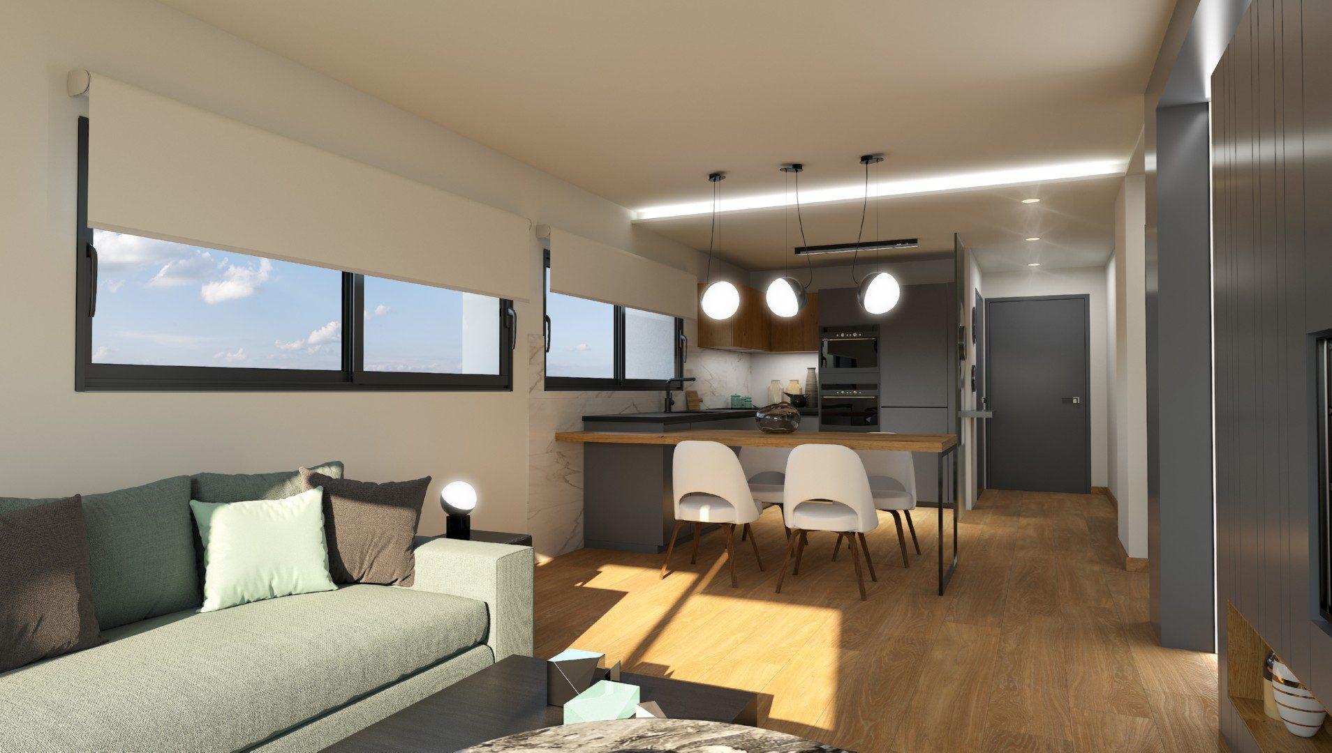 85 m² Appartement 3 pièces