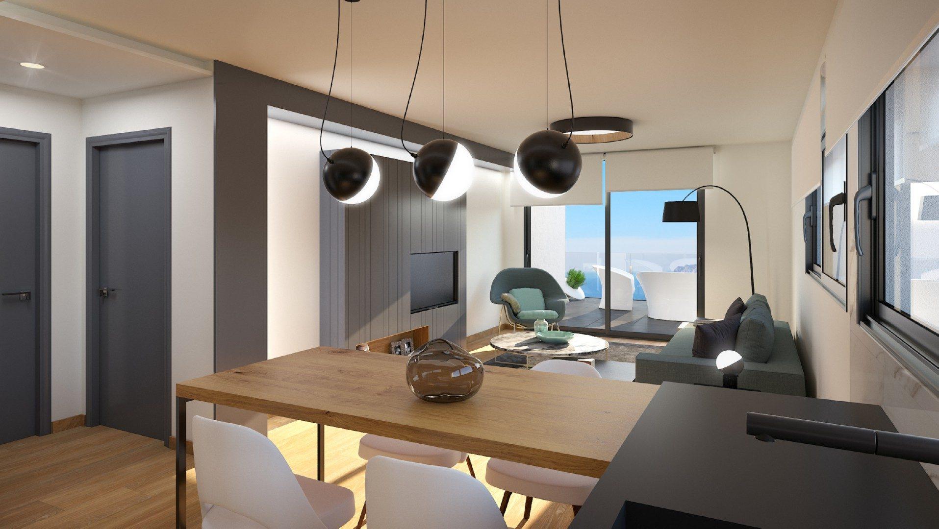 85 m² 3 pièces  Appartement
