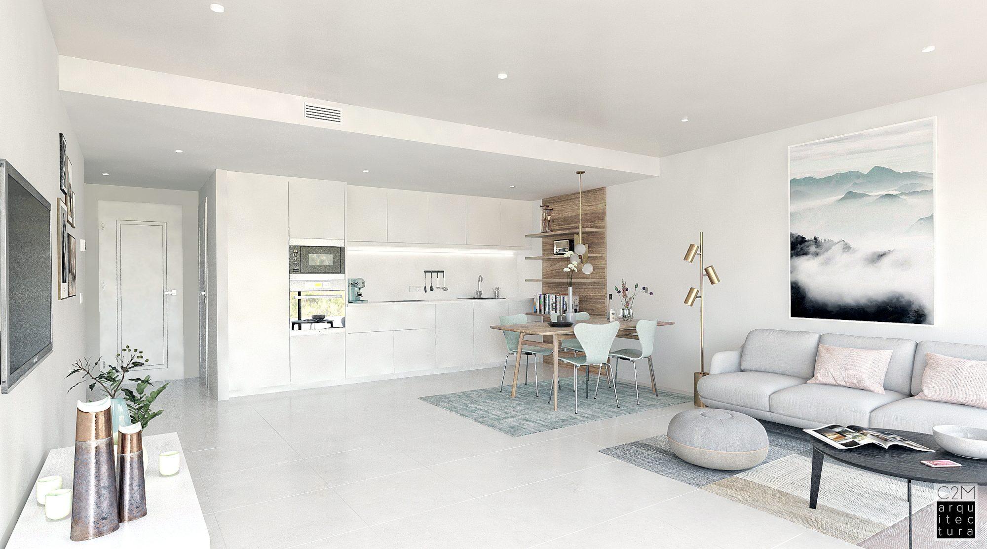 4 pièces 85 m² Appartement