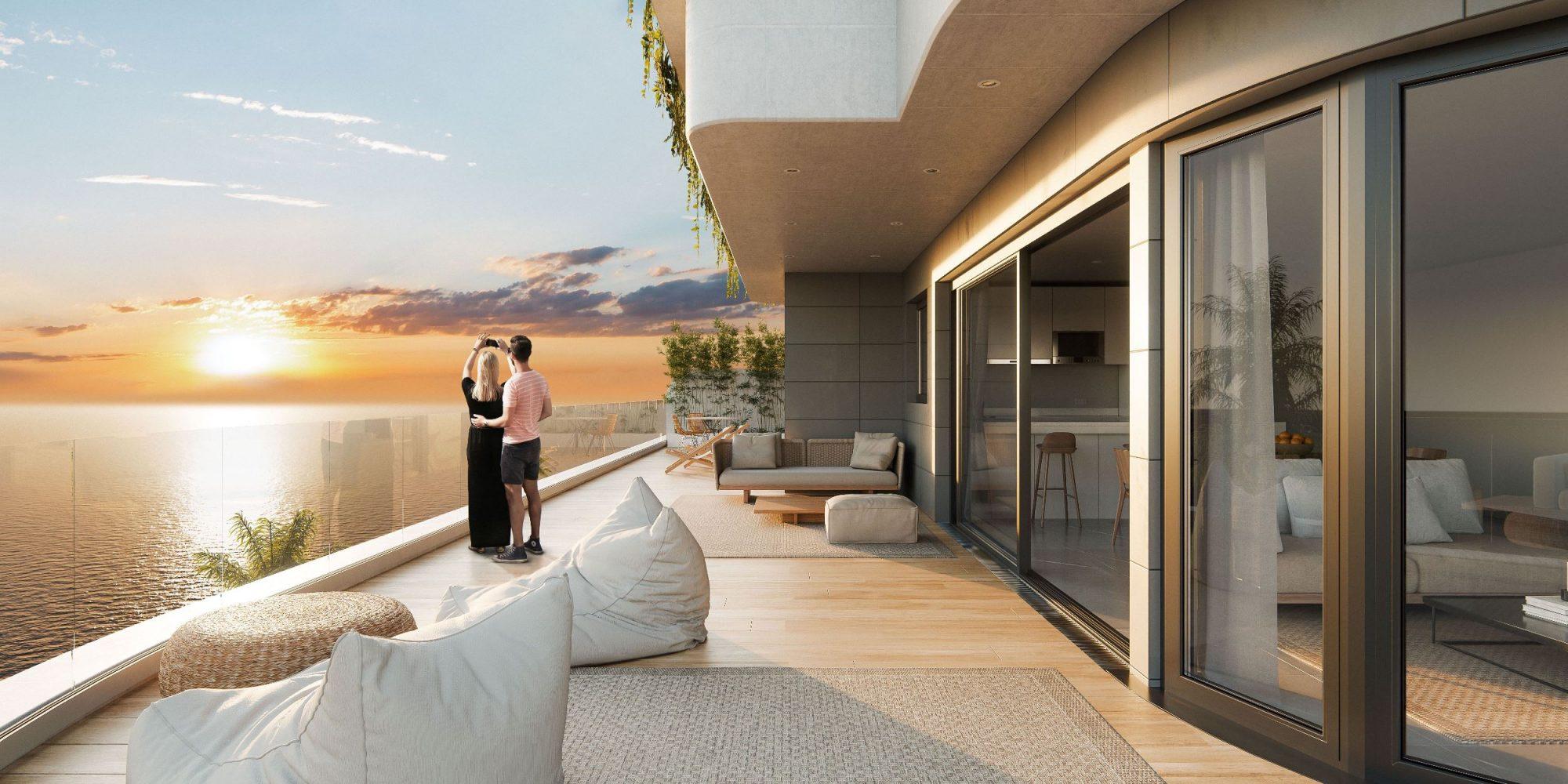 57 m² Appartement 3 pièces
