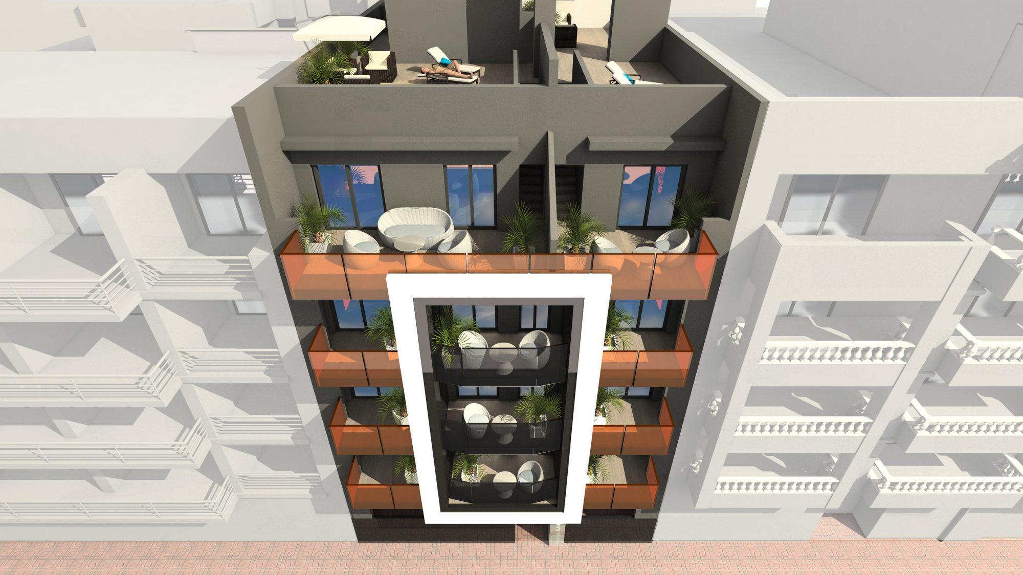 87 m²  Appartement 3 pièces