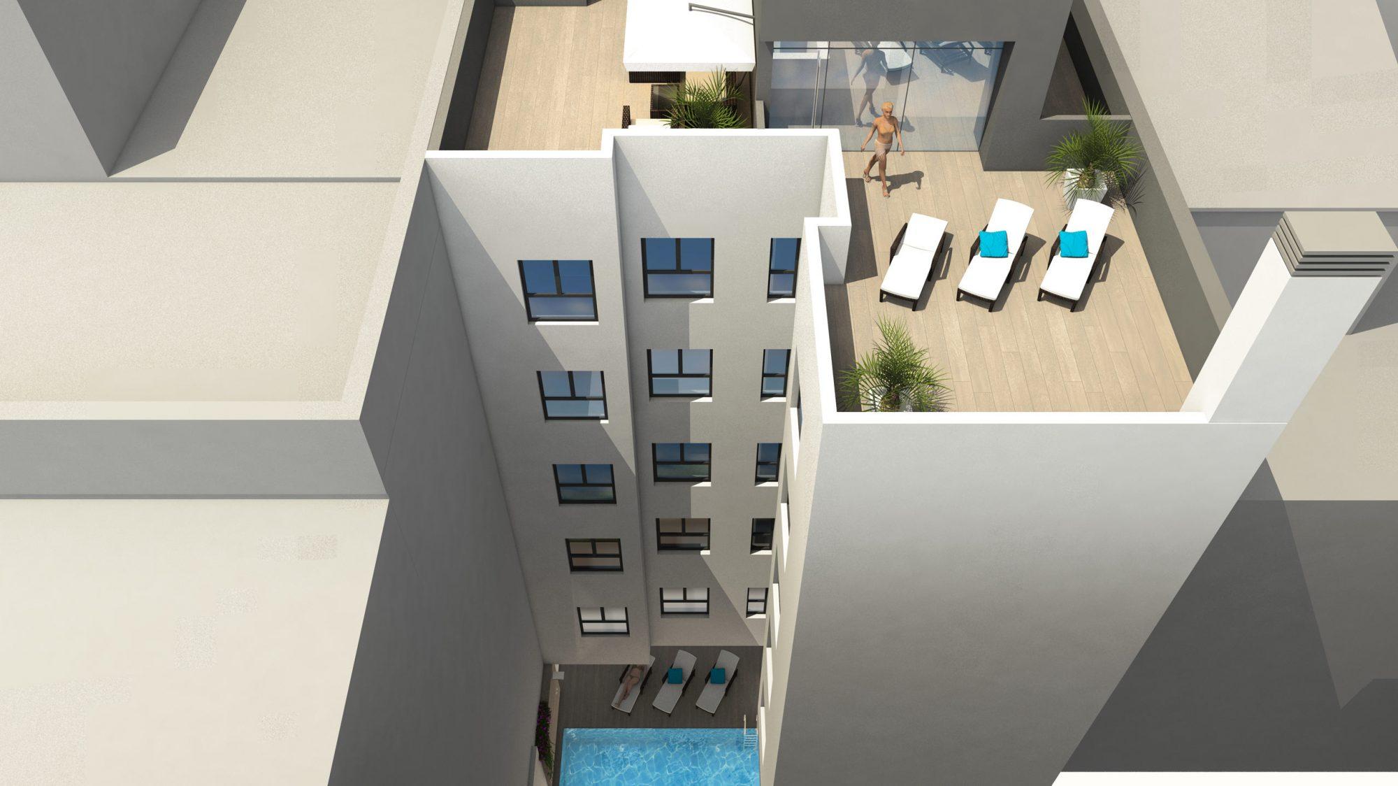 Appartement  87 m² 3 pièces