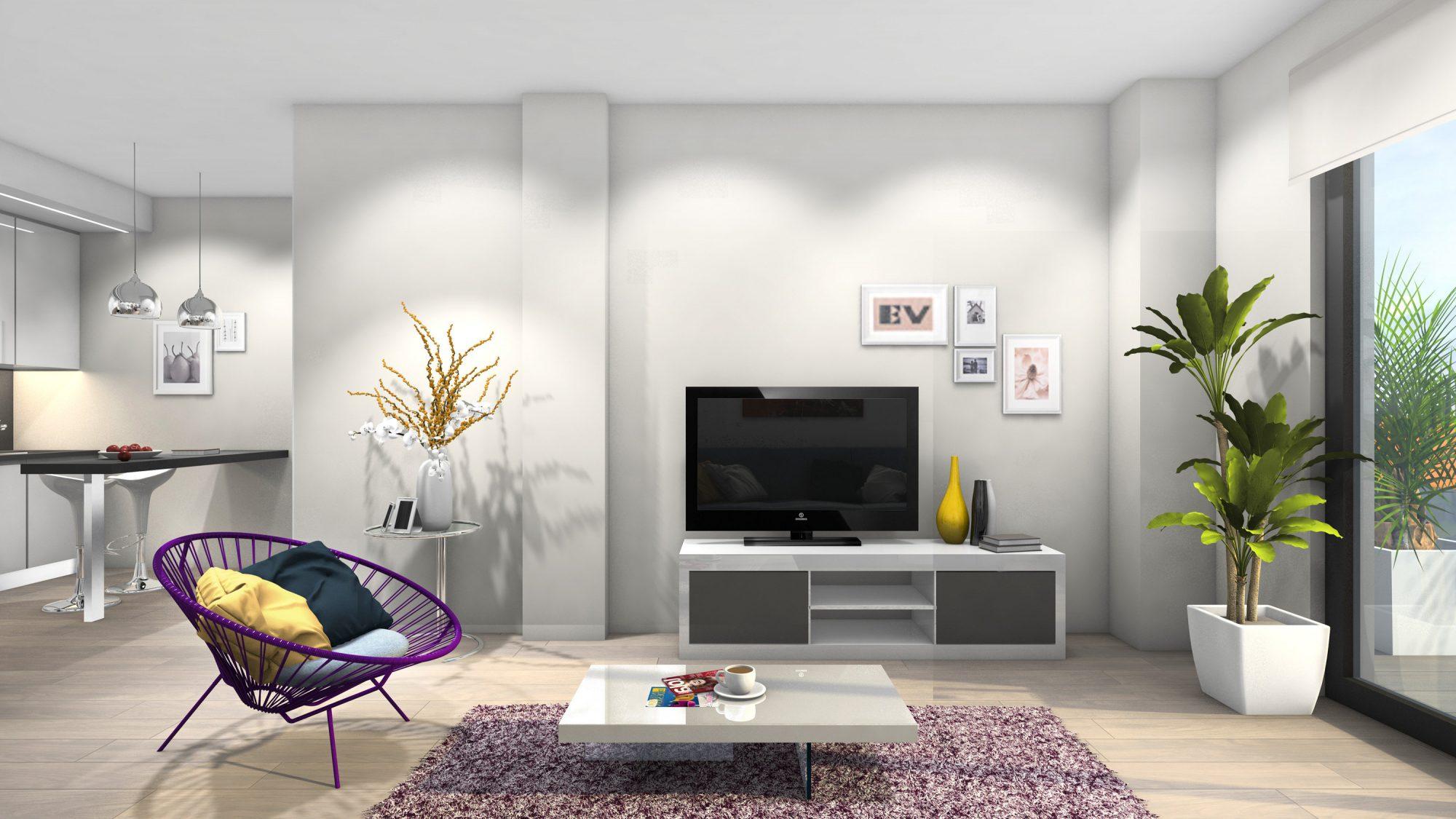 87 m² 3 pièces Appartement
