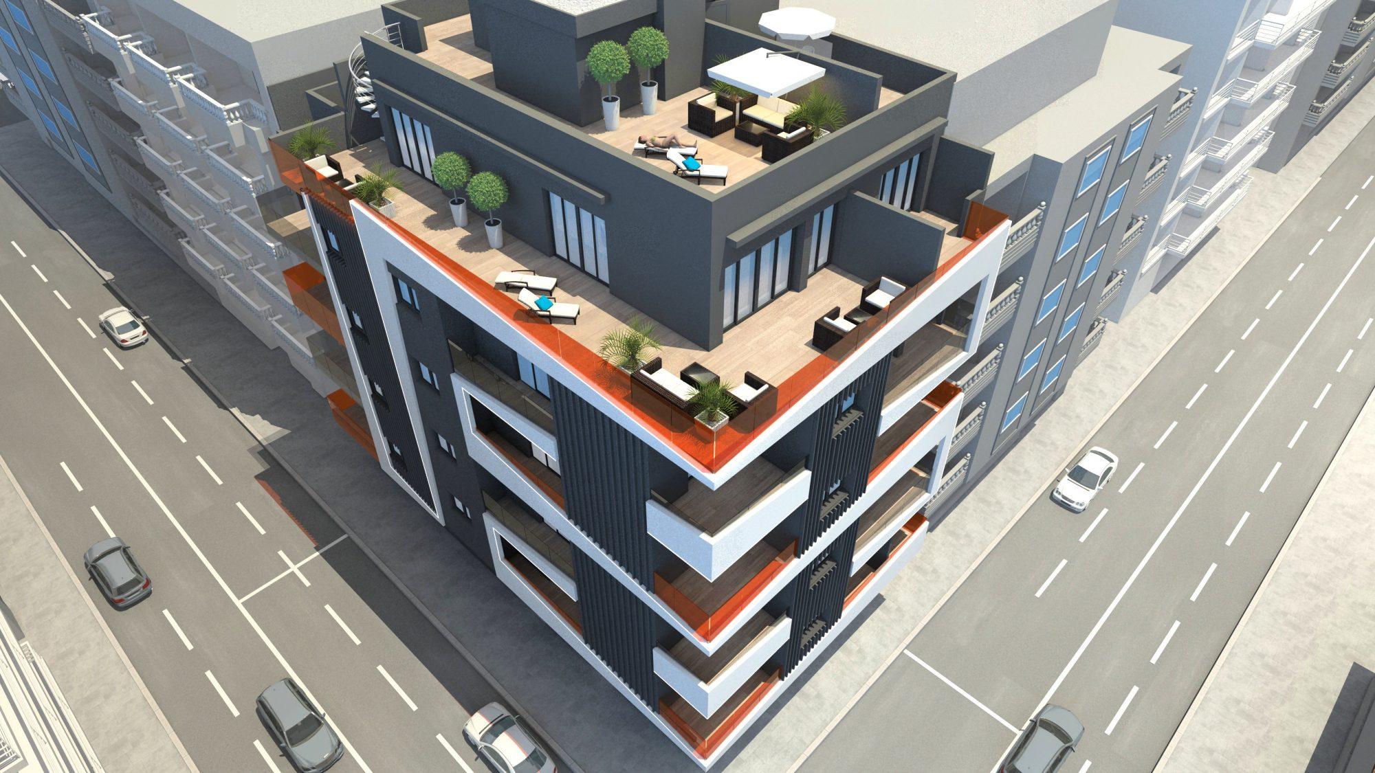 91 m²  3 pièces Appartement