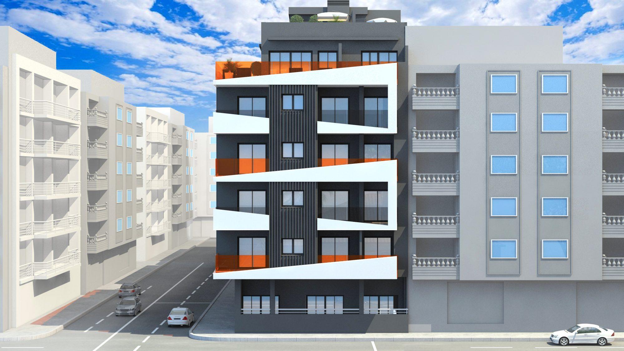 91 m²  Appartement  3 pièces