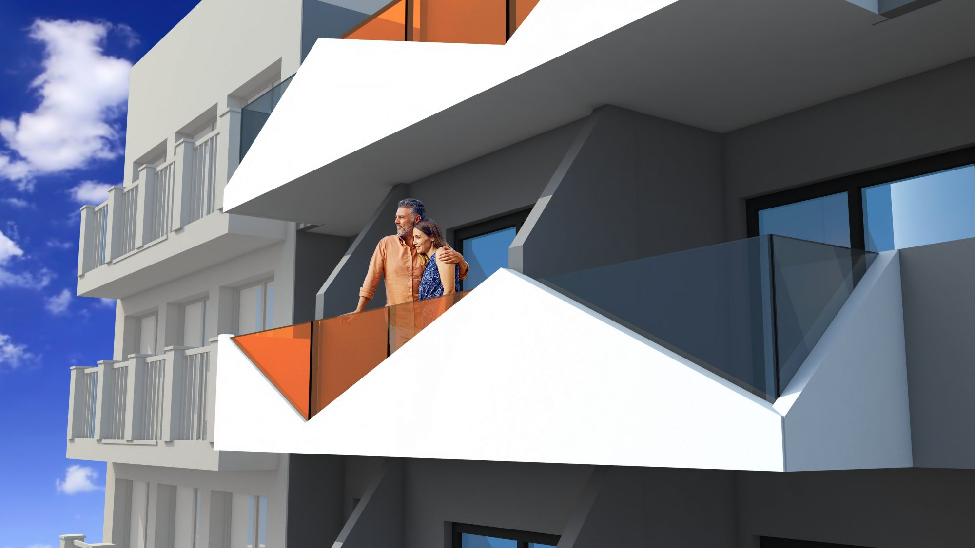 2 pièces Appartement 61 m²
