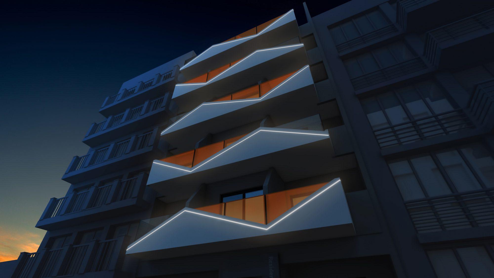 61 m² 2 pièces Appartement