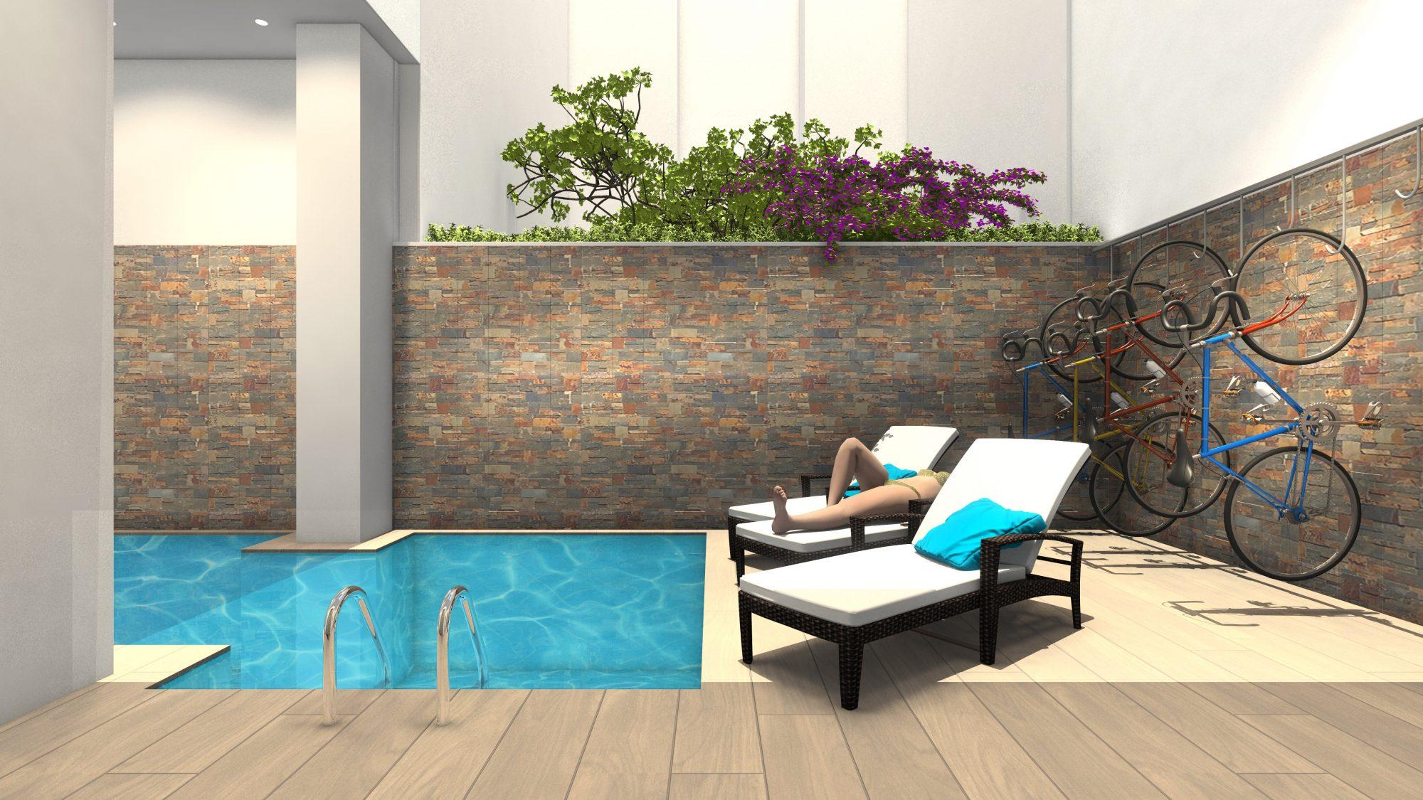 Appartement  61 m²  2 pièces