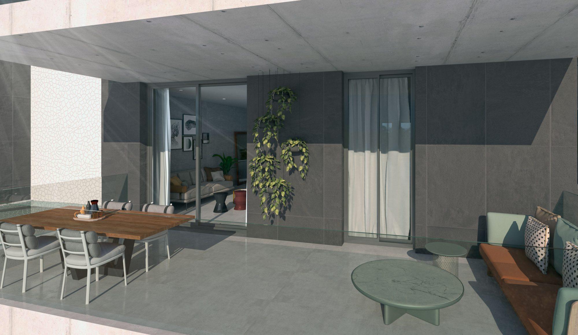 3 pièces 93 m² Appartement