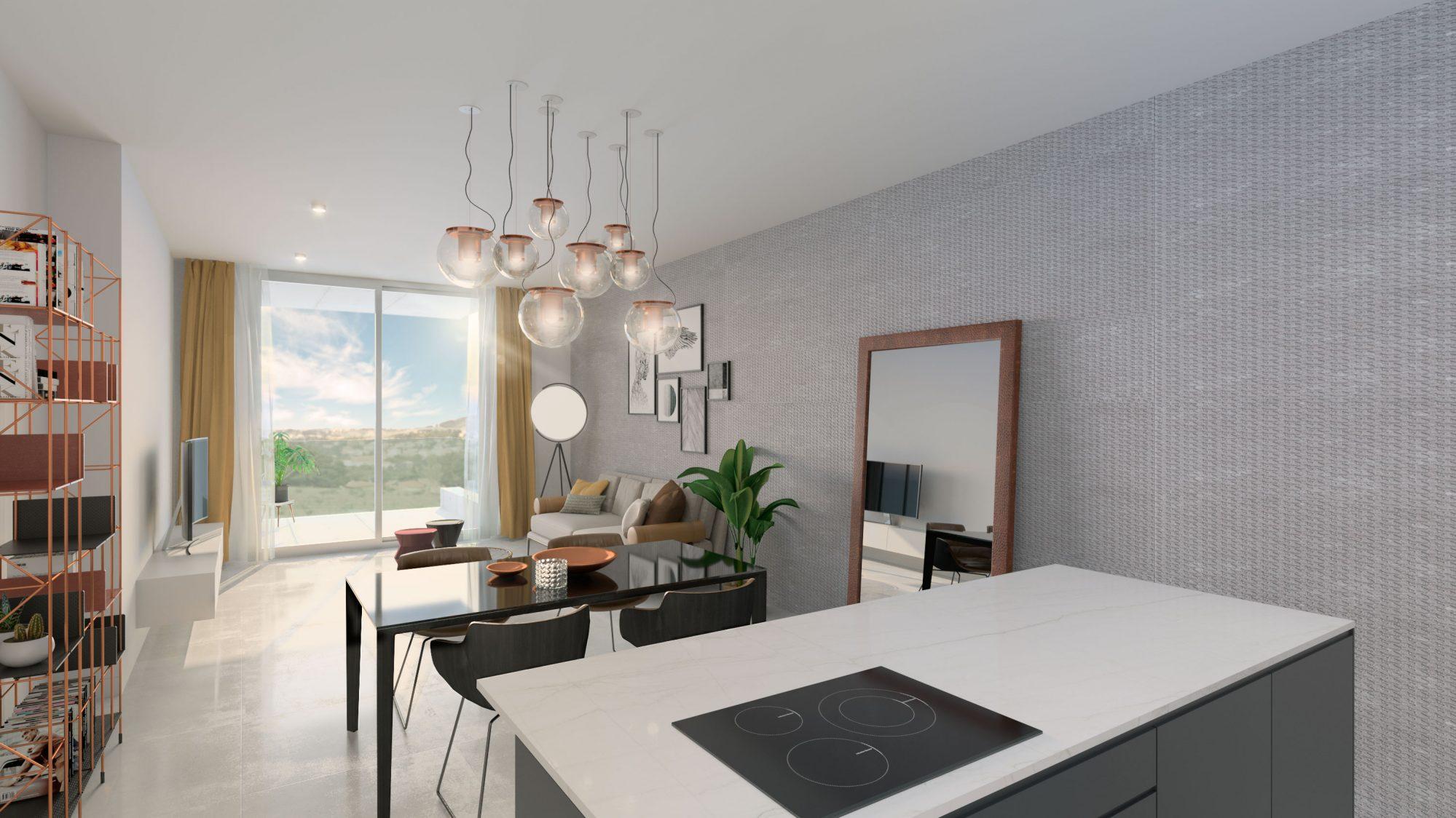 93 m²  3 pièces  Appartement