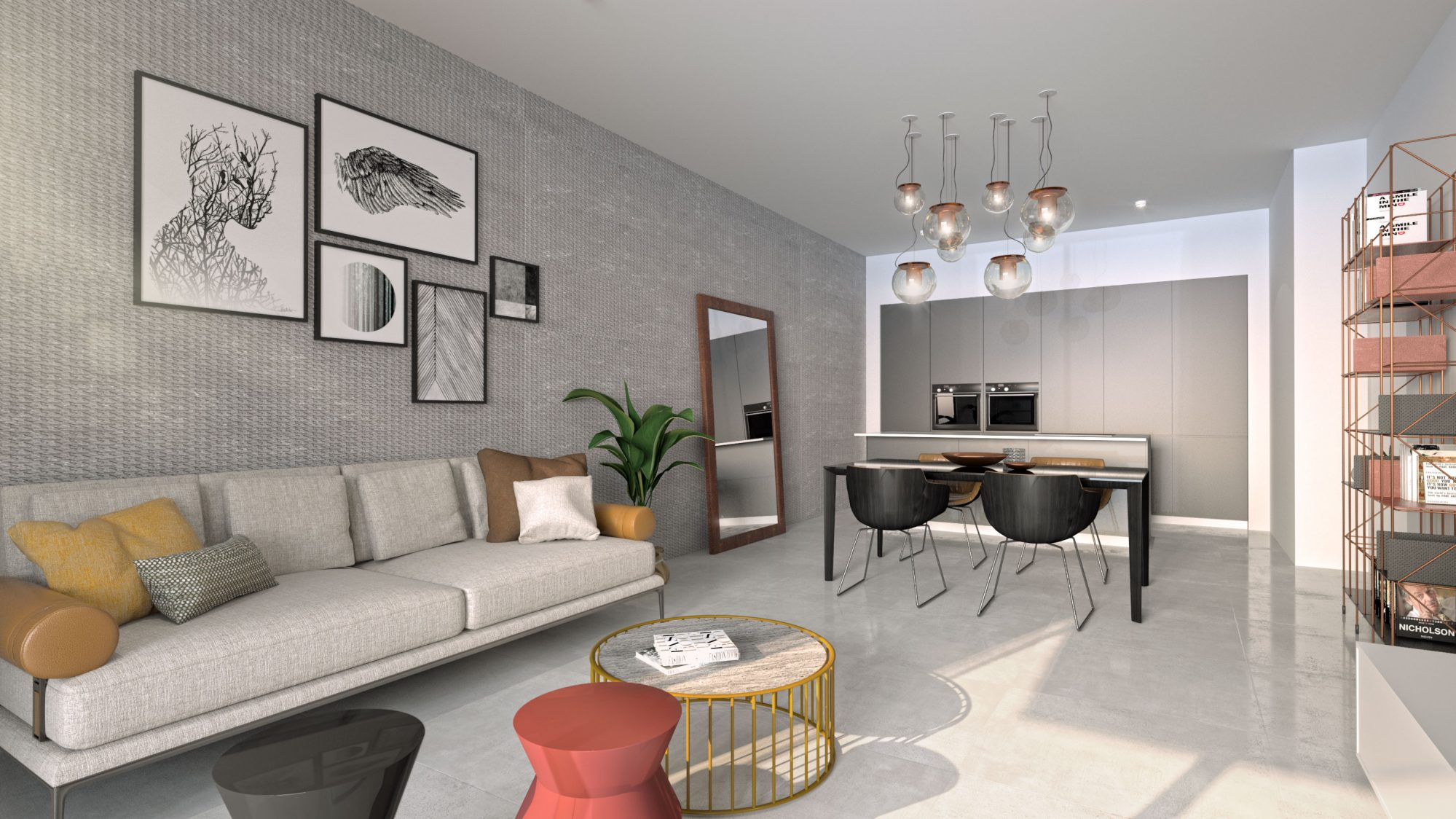 Appartement  4 pièces 130 m²
