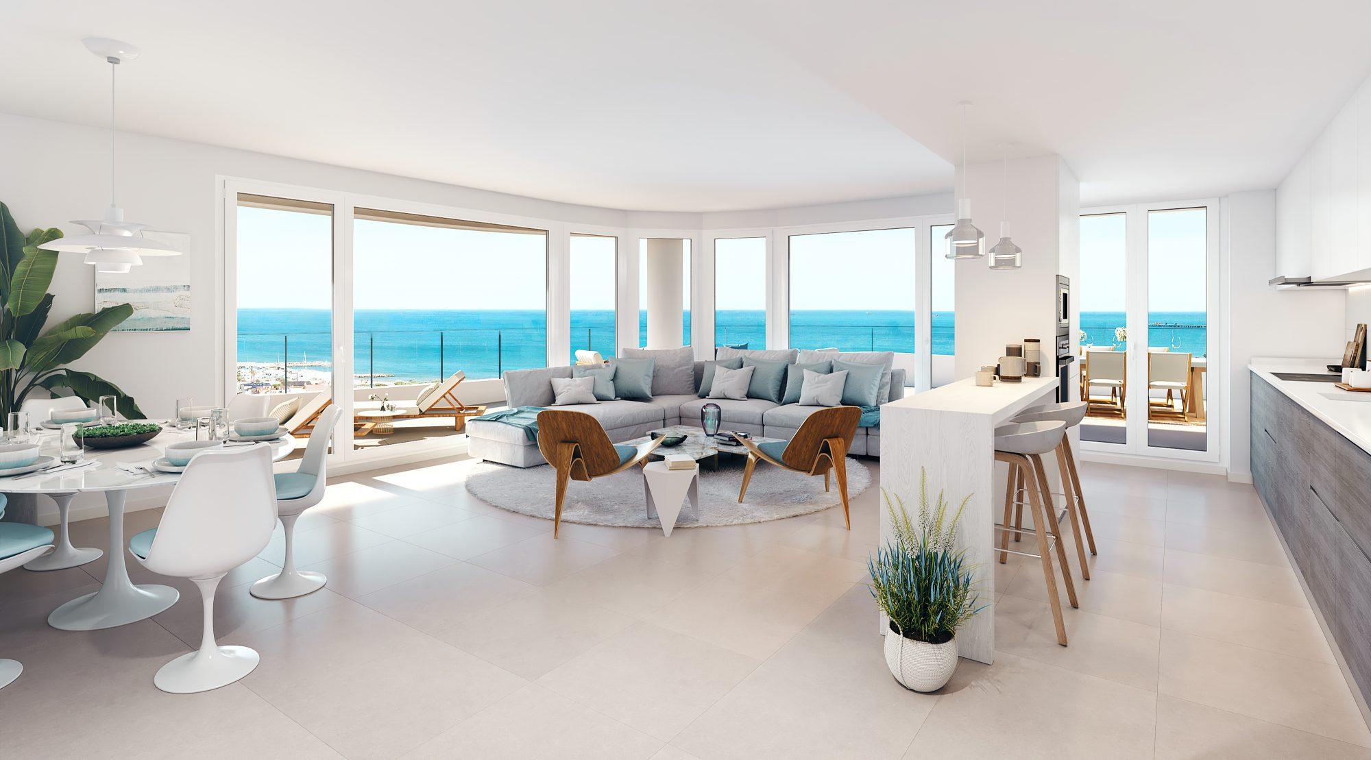 Appartement 95 m²  5 pièces