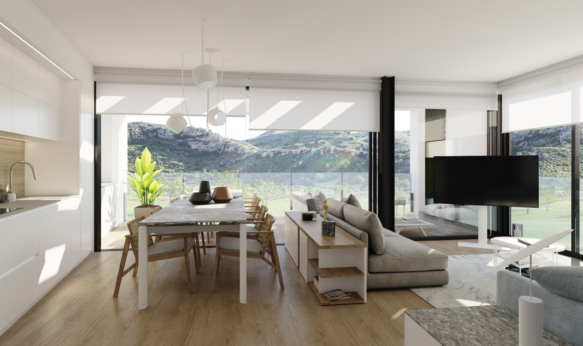 95 m² Appartement  4 pièces