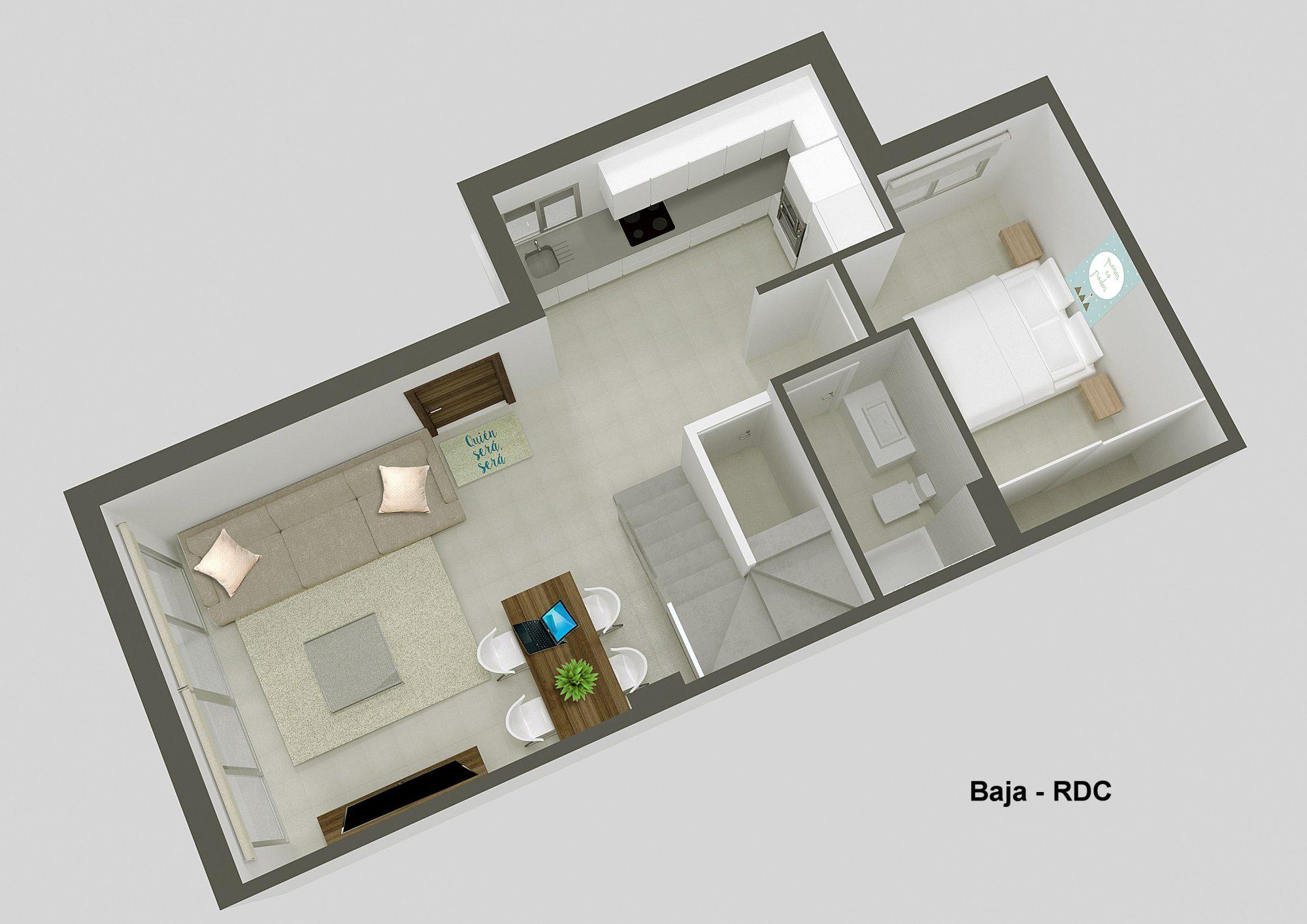 4 pièces 115 m² Maison