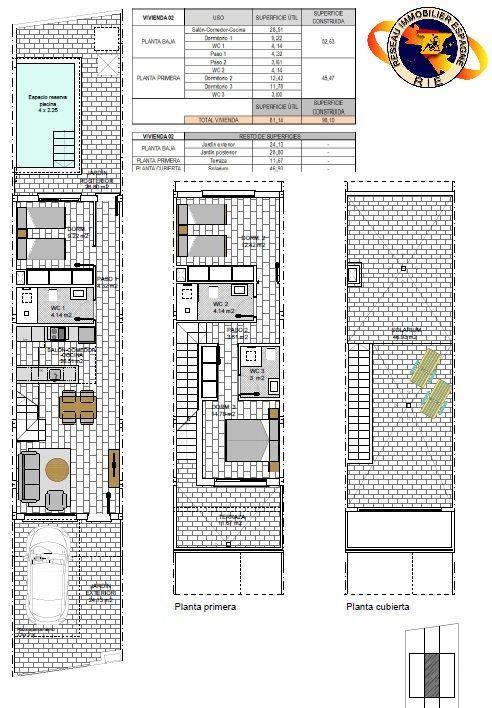 4 pièces 104 m² Maison