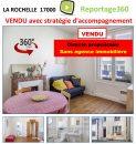 Appartement 37 m² 2 pièces  La Rochelle
