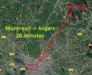 5 pièces 114 m² Montreuil-sur-Loir   Maison