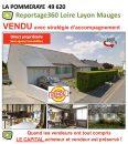 Maison 115 m² La Pommeraye  5 pièces