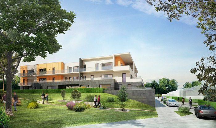 photo de TERRASSE DU CHAPITRE - T2 avec terrasse + jardin + parking