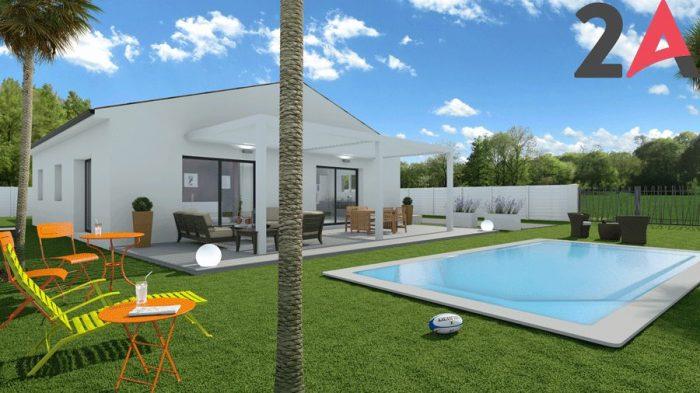 Photo Maison neuve T5 de 100 m² à Saint Bauzille de Montmel image 1/2