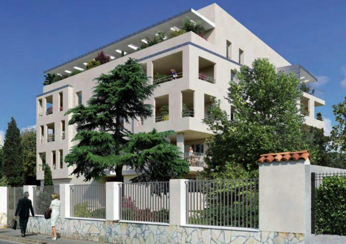 photo de Carré d'or, Nouvelle résidence de standing, Marseille 8e, Parc Borély