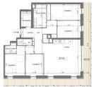 Appartement 108 m² Toulouse  5 pièces