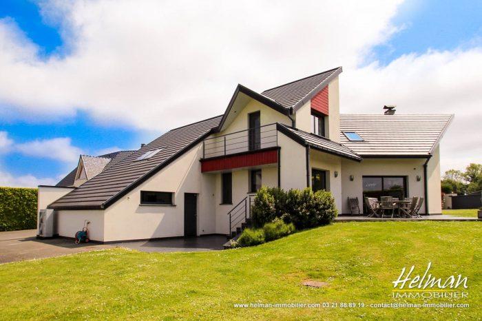 Maison d'architecte contemporaine - Helman Immobilier, Agence immobilière à Saint-Omer