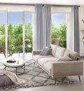 Appartement 59 m² Villeurbanne  3 pièces
