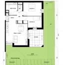 Gleizé  3 pièces Appartement  57 m²
