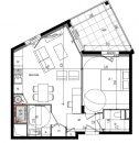 Appartement  Collonges-au-Mont-d'Or  43 m² 2 pièces