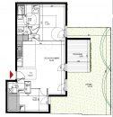 Appartement 64 m² 3 pièces Villeurbanne