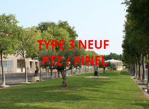 photo de Type 3 neuf 70.34 m2 et 11.5 m2 de terrasse