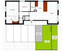 Appartement 2 chambres Anderlecht  84 m²