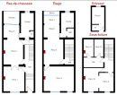 6 chambres 228 m² Maison  Schaerbeek Région Bruxelles Capitale