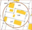 Terrain 100 m²   pièces