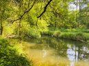 Terrain avec mobil home 2 étangs et rivière