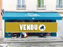 Fonds de commerce 89 m² Paris   pièces