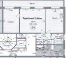 49 m² 2 pièces  Appartement Poissy Secteur 1