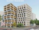 Appartement 61 m² Clichy  3 pièces