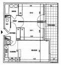 Appartement 53 m² Montpellier AIGUELONGUE 3 pièces