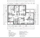 Vue Mer-Maison contemporaine - En cours d'achévement