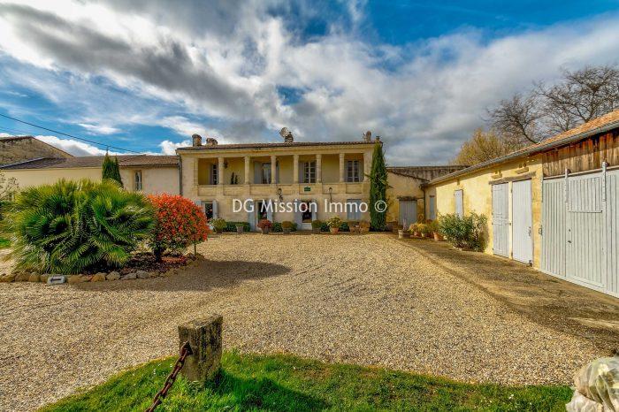 VenteMaison/VillaVILLENAVE-DE-RIONS33550GirondeFRANCE