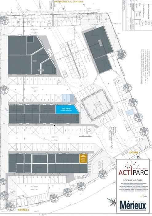 Location annuelleBureau/LocalLA FOUILLOUSE42480LoireFRANCE