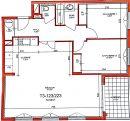Appartement 73 m² 3 pièces  Lyon