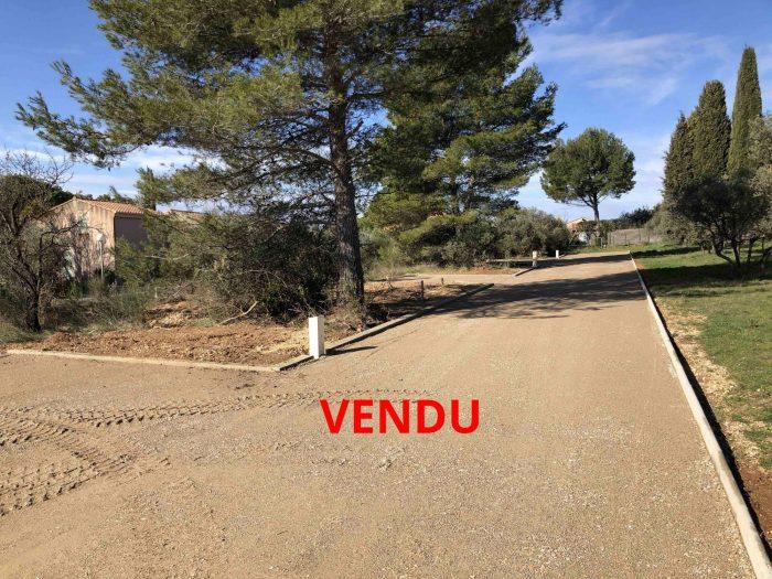 VenteTerrainMERINDOL84360VaucluseFRANCE